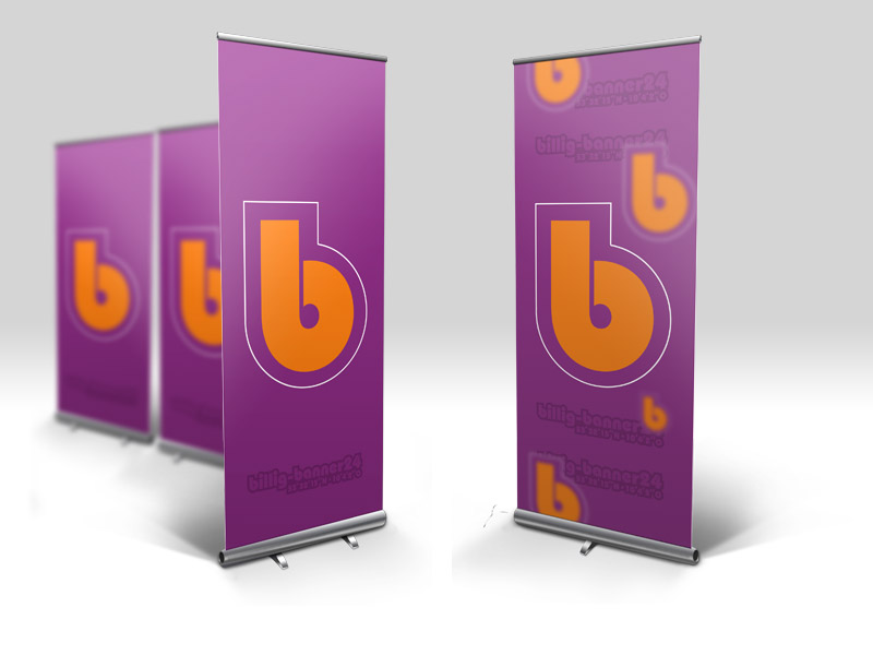 Displaysysteme & Roll-Ups