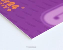 Beispielbild Hartschaum / Kunststoffplatte